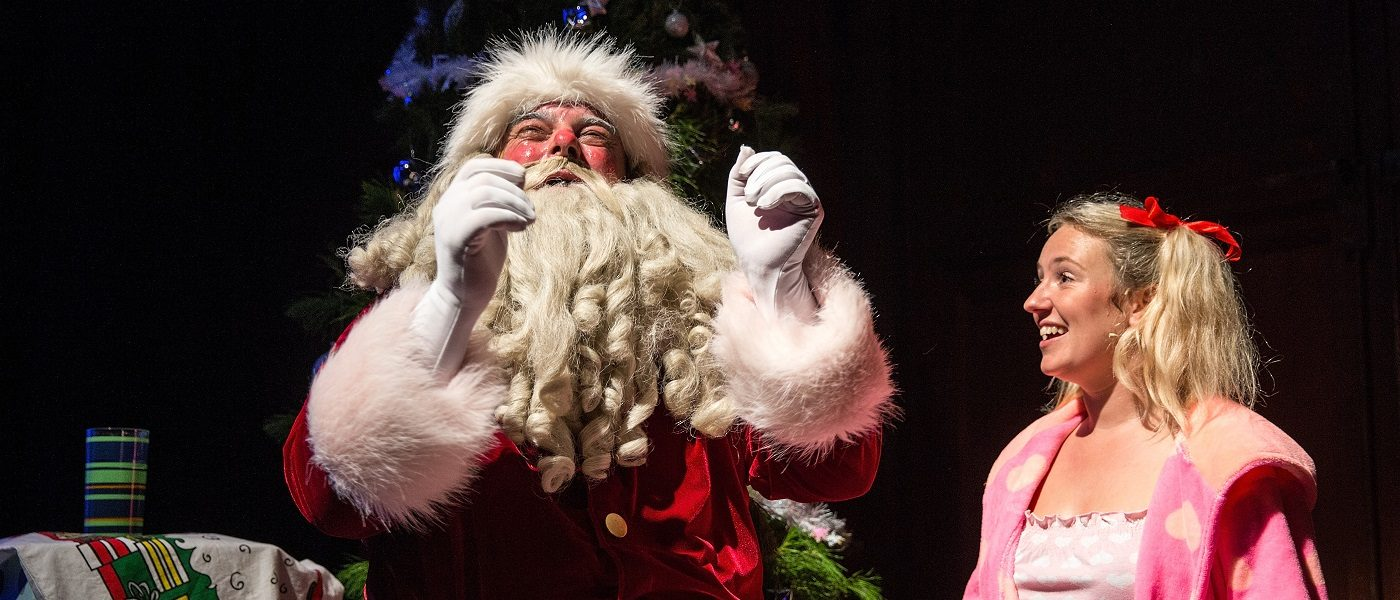 The santa claus show  pumphouse theatre