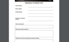 Expression of Interest Capture