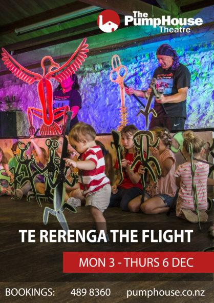 The Flight - Te Rerenga Poster
