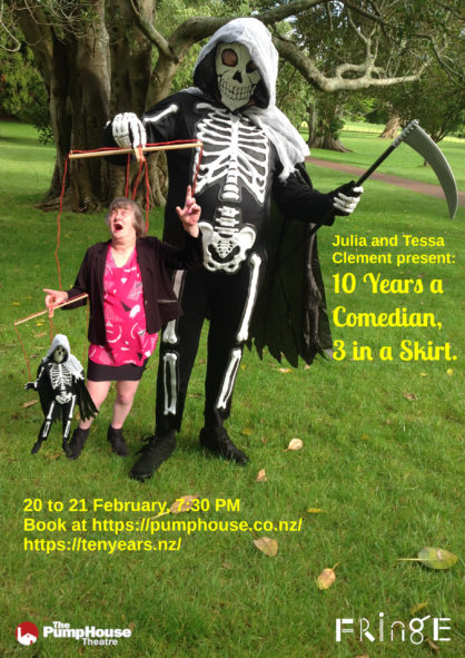 10 Years a Comedian, 3 in a Skirt Poster