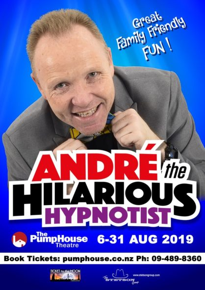ANDRE THE HILARIOUS HYPNOTIST Poster